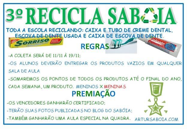 3º Recicla Sabóia 2