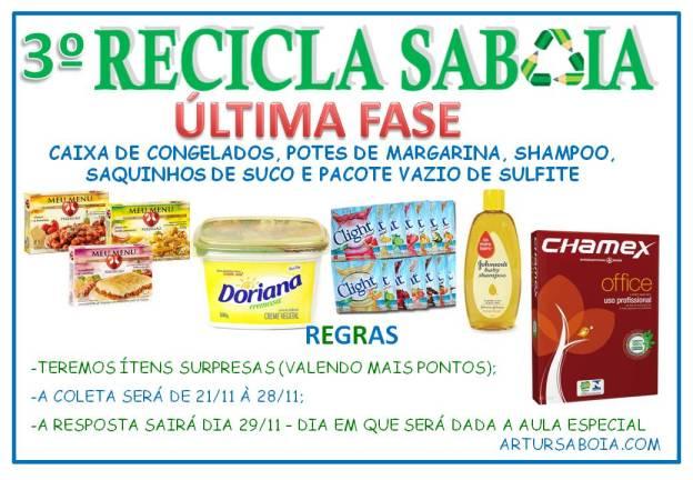 3º Recicla Sabóia 3